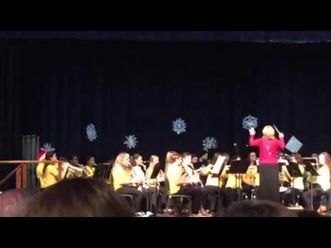 spotsylvania middle school 2015 xmas concert
