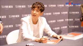 Jung Kyung Ho (정경호 , 郑敬淏 , 鄭敬淏) CF - T.I For Men Seoul Event May 14, 2016