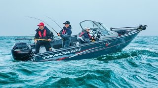 TRACKER Boats: 2016 Targa V-18 WT Deep V Aluminum Fishing Boat