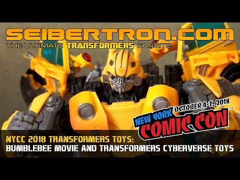 #NYCC 2018 Bumblebee Movie and Transformers Cyberverse reveals #JoinTheBuzz
