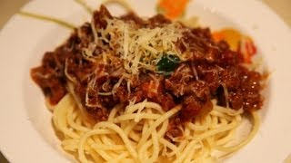 """ Spaghetti Bolognese "" Bajias Cooking"