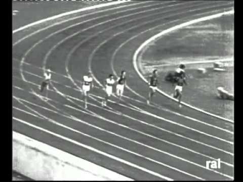 WILMA RUDOLPH  oro 200 m. Roma 1960