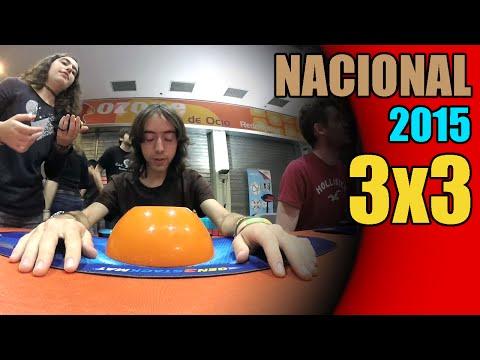 Media de 3x3 (18.04) | Nacional de España 2015