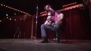 Lap Dance Burlesque Performance to Fever