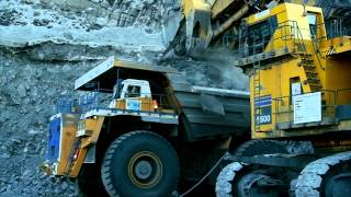 BELAZ-75710: World's Largest Dump Truck (450 metric tons)