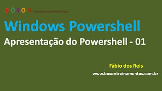 PowerShell - Apresentação - 01