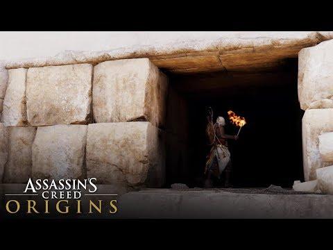 Assassin's Creed Origins - How to Enter Sneferu's Pyramid (Locked Entrance)