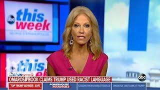 Kellyanne Conway struggles naming a black White House staffer