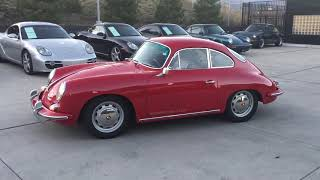 1964 356 coupe at Porsche Colorado Springs