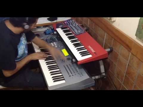 Trance JAM - Yamaha MOTIF ES and Nord Lead 2X