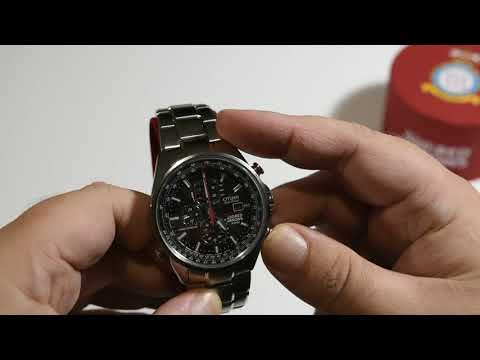 Citizen AT-8060-50E Red Arrows  Unboxing & Look