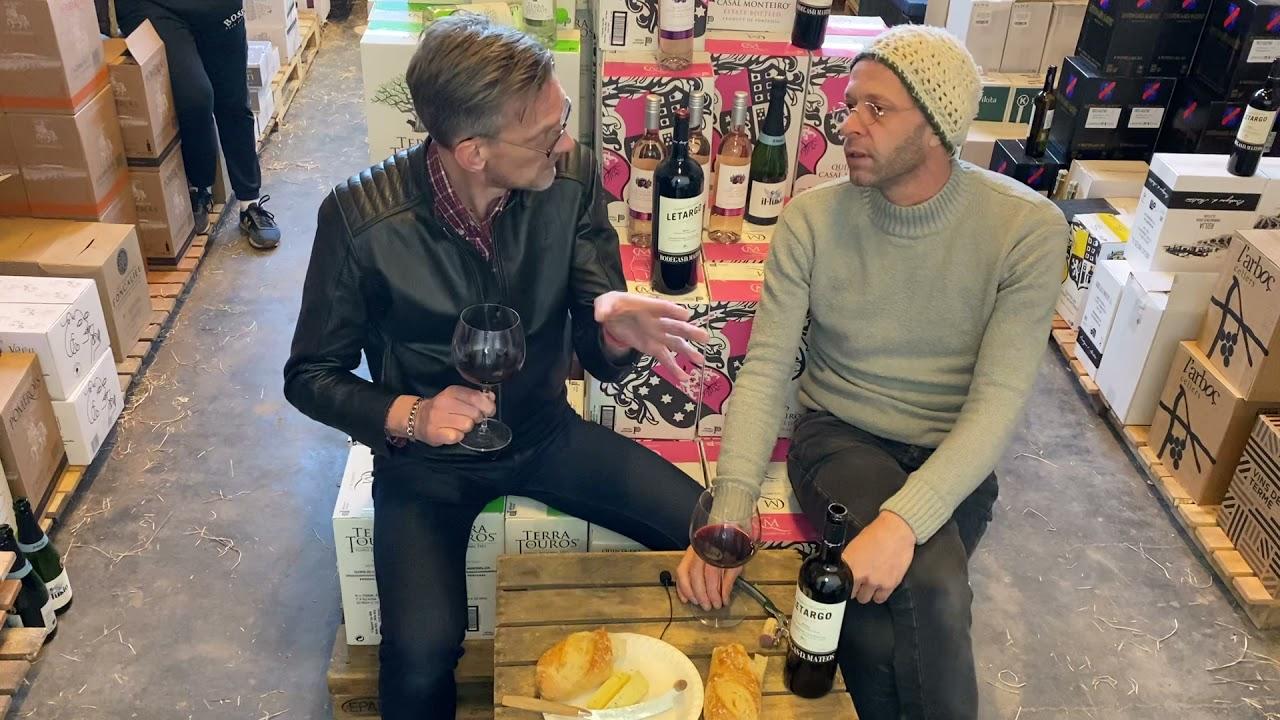 Rioja vanuit het magazijn met Leendert Bouthoorn en Sander Salburg