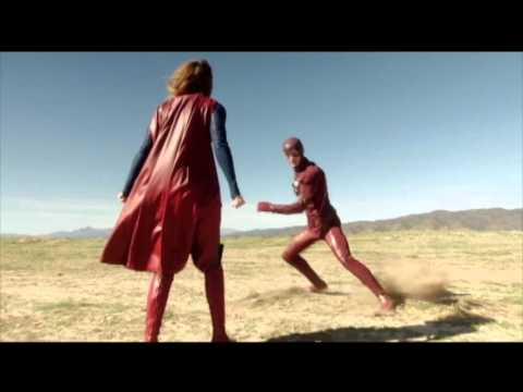 The Flash x Supergirl Crossover   official trailer (2016)