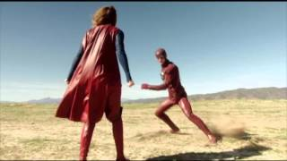 The Flash x Supergirl Crossover | official trailer (2016)