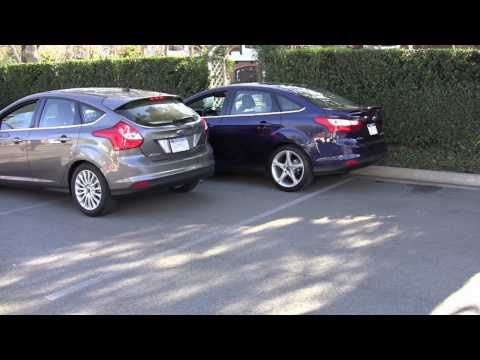 2012 Ford Focus self-parking tech demo