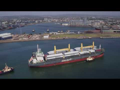 Port of Newcastle Project Cargo Video - May 2017