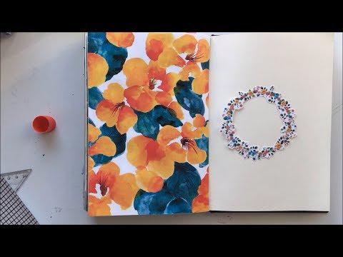 """Bullet Journal """"Mayıs 2018"""" Part 1 / Yeni çıktılar / Yeni video konsepti / Mayıs ayı giriş sayfası"""