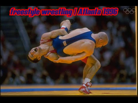 Олимпийские игры 1996 вольная борьба Атланта (48 кг предварительные схватки) USA