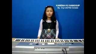 """Fitri Cerado singing Agnes Monica song """"Karena Ku Sanggup"""""""