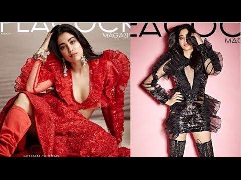 Jhanvi Kapoor SEXY Photoshoot For The Peacock Magazine Mp3