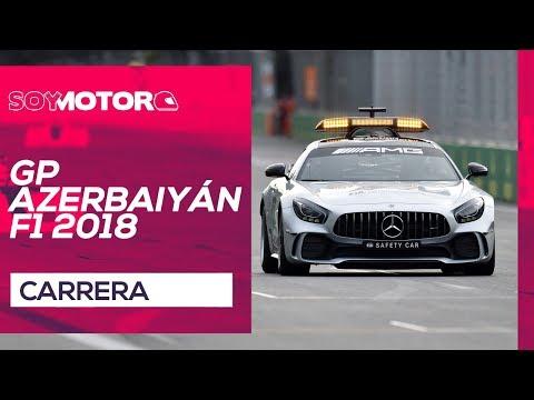 GP de Azerbaiyán F1 2018 – Directo carrera
