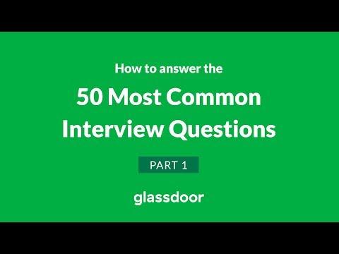 Glassdoor 50 Most Common Interview Questions | Part 1
