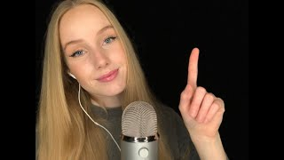 ASMR| FOLLOW MY INSTRUCTIONS ☝️👀 (german/deutsch) |RelaxASMR