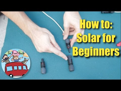 How to Wire a Simple Off-grid Solar Power System