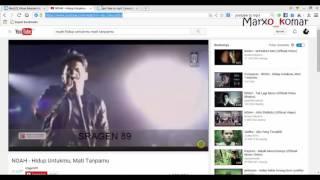 Cara Download Lagu dari Youtube | Paling mudah