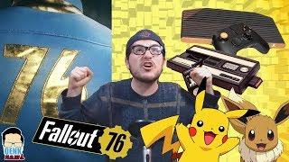 Atari e Intellivision REGRESAN - ¡Pokémon para Switch! - Fallout 76 INFORMACIÓN | QN