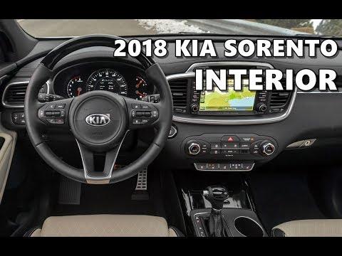 2018 Kia Sorento Interior Tour