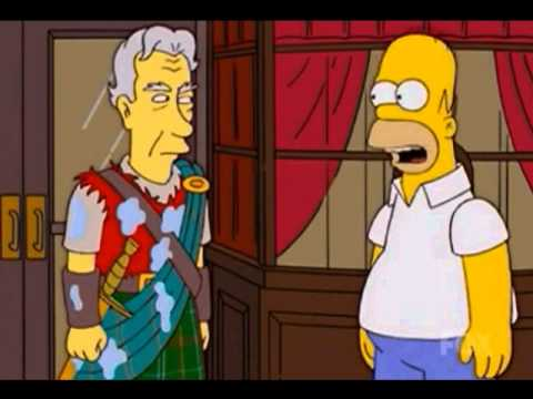 The Simpsons say Macbeth (Bad luck)