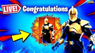 🔴 *NEW* FORTNITE ULTIMA KNIGHT ORIGIN UNLOCKED & RIFT BEACON ACTIVATED (FORTNITE LIVE)
