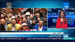 أخبارTeN - السفير عمر سليم الإقبال متواصل للمصريين فى إسبانيا منذ اليوم الأول للانتخابات