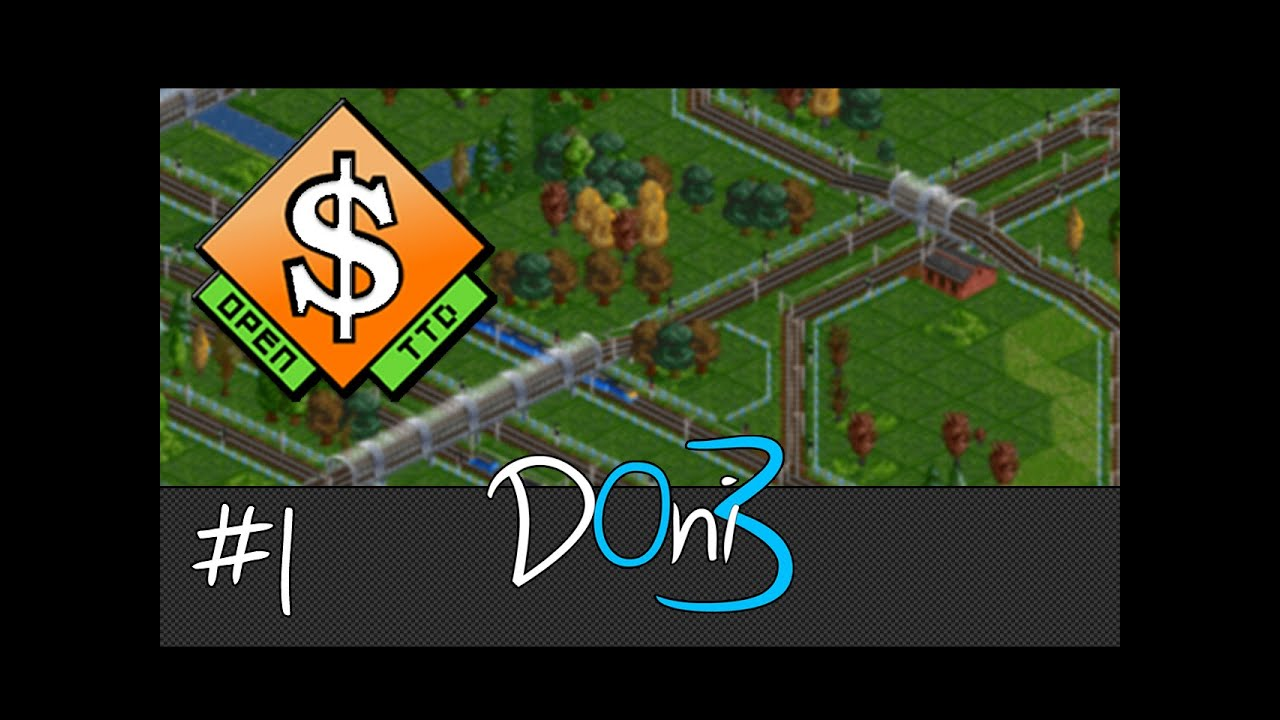 OpenTTD Let's Play - Rail Network Tutorial / Guide | S1E1 ...