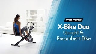 Two-in-One X-Bike Duo by ProForm