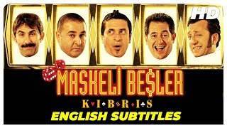 Masked Gang Cyprus ( Maskeli Beşler Kıbrıs ) | Turkish Comedy Full Movie ( English Subtitles )
