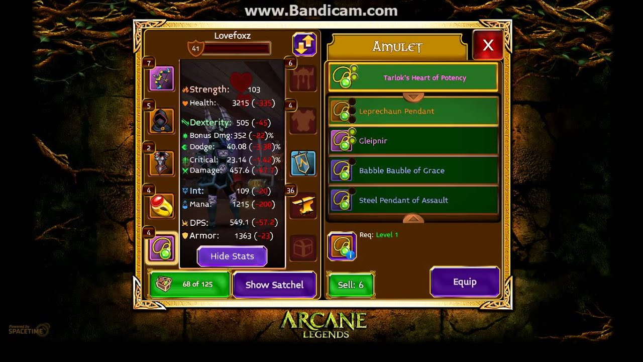 how to play arcane legends