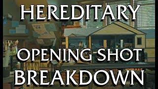 HEREDITARY breakdown of the opening shot