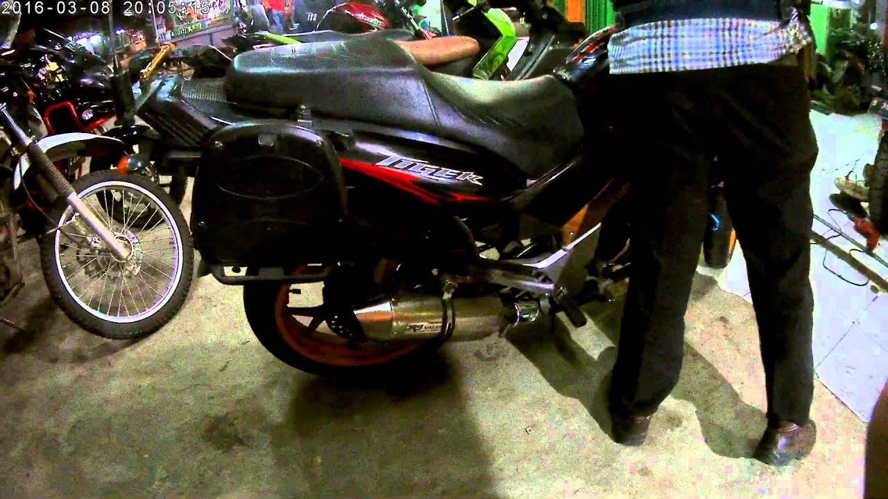 Honda Tiger Knalpot Valencia Purbalingga Db Killer Leher Ori R9 Assen Kawasaki Bajaj Pulsar 200ns Full System
