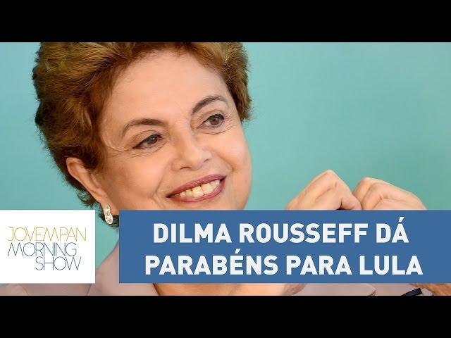 Boa de inglês? Dilma Rousseff dá parabéns para Lula | Morning Show