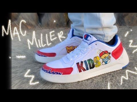 custom MAC MILLER SHOES !! | M I Y A. art