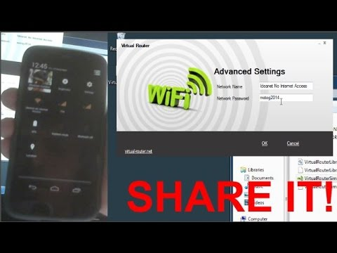 Share PC/LAPTOP Internet With IOS | Android Devices!(USB REVERSE TETHERING )(NO ROOT/ JAILBREAK)
