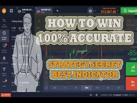 BINARY OPTION STRATEGY   How to win 100% accurate   strategy secret best indicator