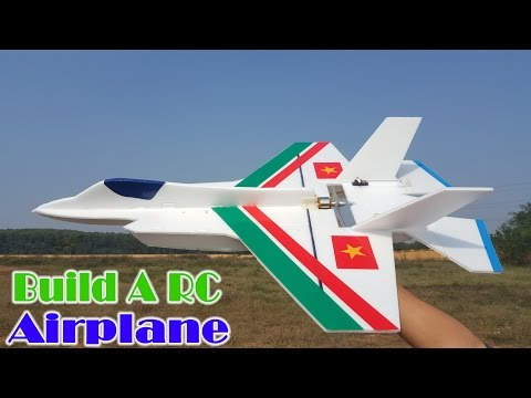 [Tutorial] How To Build A RC Airplane F35 F22