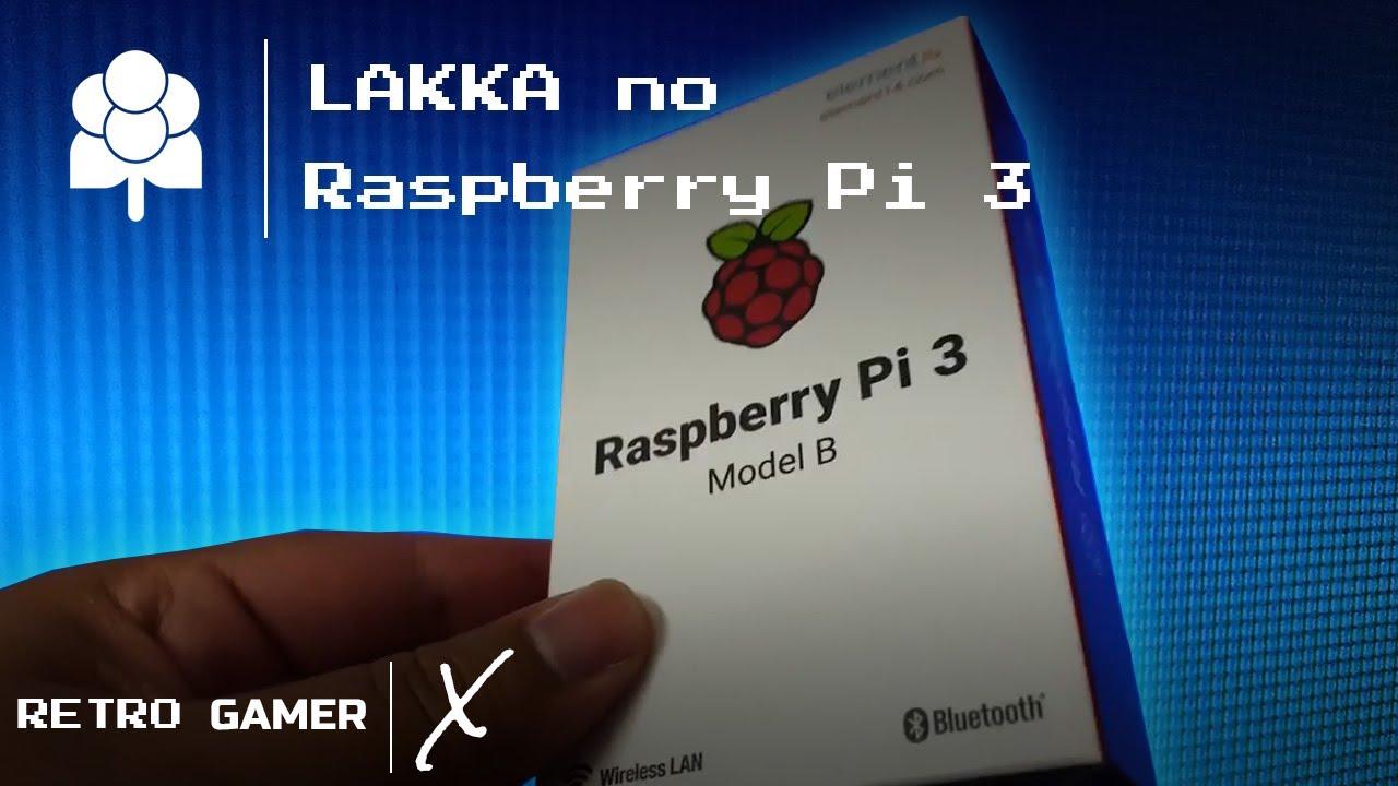 Lakka no Raspberry Pi 3
