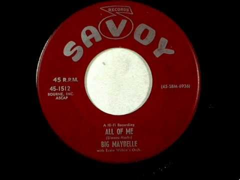 Big Maybelle   All Of Me   1957