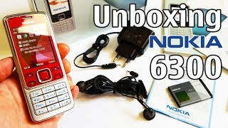 Nokia 6300 Red Unboxing 4K with all original accessories RM-217 review