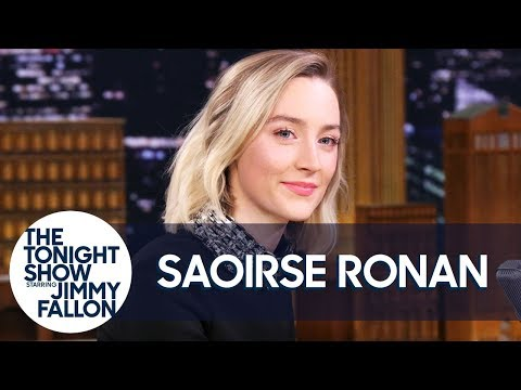 Margot Robbie Challenges Saoirse Ronan to Do Her Best Australian Accent