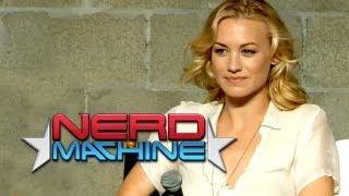 """Chuck"" Conversation with Cast and Crew (Part 1) - Nerd HQ (2012) HD - Yvonne Strahovski"